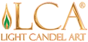 Light Candel Art Logo